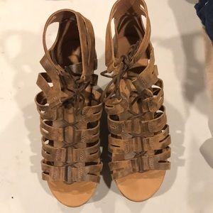 Freebird gladiator sandals 40